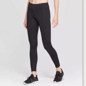 NWT JoyLab Women's Laser Cut Leggings Black- XS